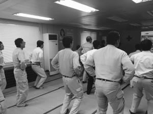 2016.09.30「SPJV安全教育訓練」〜ラジオ体操猛特訓〜