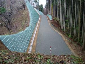 「八方峰林道工事(2010年)」